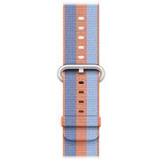 Cinturino in nylon intrecciato arancione (38 mm)