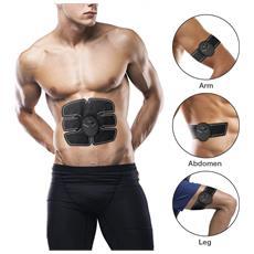 Elettrostimolatore Muscolare Elettrodi Gel Pad Bodybuilder Fitness Per Uomo Donna Addominali Pancia Gambe Glutei Braccia