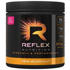 Pre-workout 300 G - Reflex - Pre-allenamento Con Caffeina -