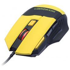 CI-464, USB, Nero, Giallo, Cavo, Mano destra, Giocare, PC / PC portatile