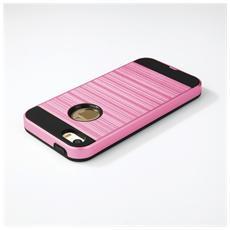 Cover Motomo In Gomma E Plastica Per Iphone 5 & 5s Alta Qualità Colore Rosa E Nero