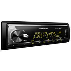 Sintolettore CD MVH-X580DAB Potenza 4x50W Supporto AAC / FLAC / MP3 / WAV / WMA Nero