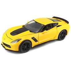 Veicolo Maisto 2015 Corvette Z06 Colore Giallo
