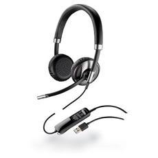 Cuffia Biaurale con Microfono Nero Filo 100 - 8000 Hz 87506-01