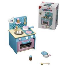 Crea Gioca Impara Legno Cucina 55698