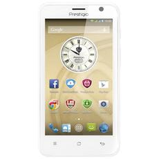 "MultiPhone 5550 DUO Bianco 4 GB Dual Sim Display 4.5"" Fotocamera 8 Mpx Android Italia"
