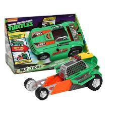 Veicolo Turbo Charger Trasformabile Ninja Turtles