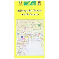 Riviera del Brenta e ville venete 1:50.000