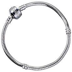 Braccialetto Harry Potter Slider Charm Bracelet (silver Plated) Size L