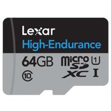 MicroSD da 64 GB Classe 10 + Adattatore