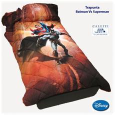 Trapunta Invernale Letto Singolo Disney Batman Vs Superman