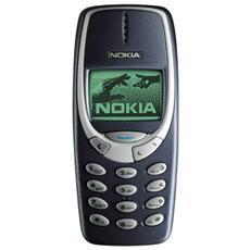 Cellulare 3310 con Batteria Colore Blu Scuro