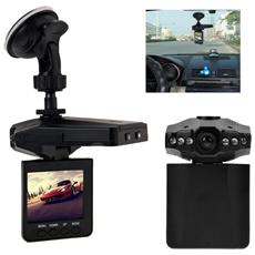 Camera Hd Dvr Auto Con Schermo Lcd 2.5 Per Registrazione Video Sd Con Batteria