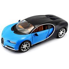Veicolo Bugatti Chiron Scala 1:24