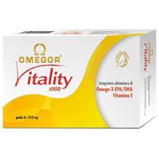 Vitality 1000 [600 Perle (10x60) Da 1410mg] - Omega3 Epa E Dha