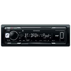 Ricevitore Multimediale KMM-BT502DAB con Bluetooth e Sintonizzatore DAB+ Potenza 4 x 50 W Supporto FLAC / MP3 / WAV / WMA Nero