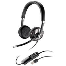 Cuffia Biaurale con Microfono Nero Filo 100 - 8000 Hz 85 dB 87506-02