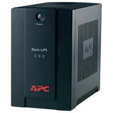 Gruppo di Continuità UPS BX500CI 500VA / 300W AVR 3 x Prese IEC (C13) / 2 x RJ11