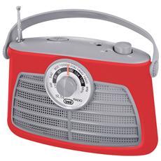 Radio Portatile 2 Bande Ra 763 V Rosso