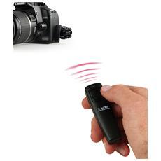 Fototechnik Twin1 RFU, RF Wireless, Nero, Fotocamera, Pulsanti, 100m, 2,4 GHz