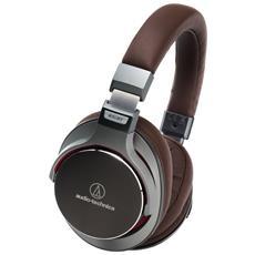 ATH-MSR7GM Padiglione auricolare Stereofonico Cablato Marrone, Grigio auricolare per telefono cellulare