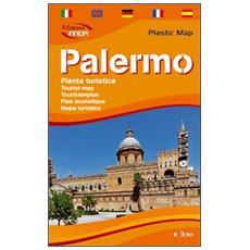 Palermo. Pianta turistica 1:9.000