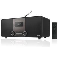 Radio Digitale DIR3010 DAB / DAB + / FM Wi-Fi Colore Nero