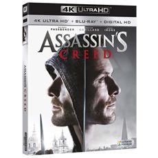 Assassin's Creed (Blu-Ray 4K Ultra HD+Blu-Ray)