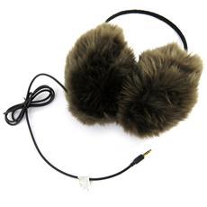 casco lembi dell'orecchio 'scarlett' marrone - [ l9256]