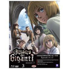 Attacco Dei Giganti (L') - Stagione 02 #03 (Eps 09-12) (Ldt Ed) (Blu-Ray+Dvd)