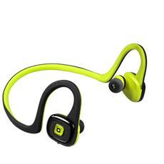 TESPORTEARSETFLEXY Aggancio, Auricolare, Passanuca Stereofonico Bluetooth Nero, Giallo auricolare per telefono cellulare