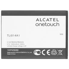 Batteria nuova ORIGINALE TLi014A1 1400mAh per One Touch 4010D T´Pop, 4013D Pixi3 (4) , 4027D Pixi3 (4.5) , 4030D S´Pop venduto in BULK senza scatola