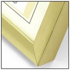 Cornice Portafoto in Plastica 30 x 40 cm Colore Oro 4 pz