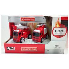 Fire Control Force- Camion Pompieri Die Cast