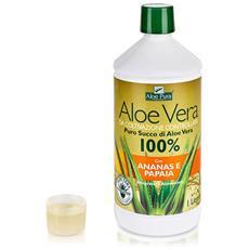 Optima Puro Succo Di Aloe Vera Con Ananas E Papaia, 1 L