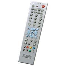 UR 82 SE, Argento, Audio, DVD / Blu-ray, DVR, SAT, TV, Set-top box TV, VCR, Pulsanti, Alcalino, AAA