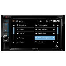 DDX4016DAB, DAB, FM, LW, MW, 87,5 - 108 MHz, 153 - 279 kHz, 800 x 480 Pixel, LCD, Nero