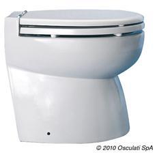 WC a depressione Elegant 24 V posteriore smussato