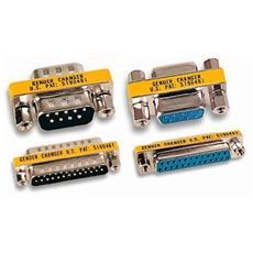 IADAP 736-09 - Mini Gender Changer Standard DB 9 poli M / F