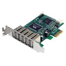 Cavo adattatore PCI Express basso profilo a 7 porte USB 2.0 alta velocità