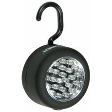 Torcia a Batteria Magnetica 24 Led Maurer (Batterie 3xAAA Non Incluse)