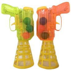 Coppia 2 Pistola Lancia Spara Palline per Bambini