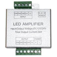 Amplificatore Per Controller Strisce Led Rgb+w Vt-2408 3327