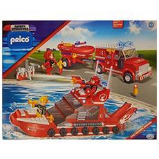 35490 Pricò - Motovedetta dei Pompieri - 392 Pezzi