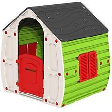 Casetta Gioco Per Bimbi Cm. 102x90x109h Casa Gioco Bambini Esterno Giardino