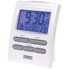 622415, LCD, Batteria, AA, Argento, 112 x 55 x 82 mm, Plastica