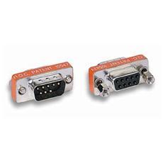 IADAP 736-09N - Gender Changer D-SUB 9 pin M / F Null Modem