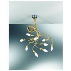 Illuminazione 3460-9-Cr - Sospensione Bracci Flessibili