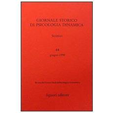 Giornale storico di psicologia dinamica. Vol. 44