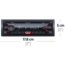 Sintolettore DSXA400BT Potenza 4x55W Supporto MP3 / WMA Nero